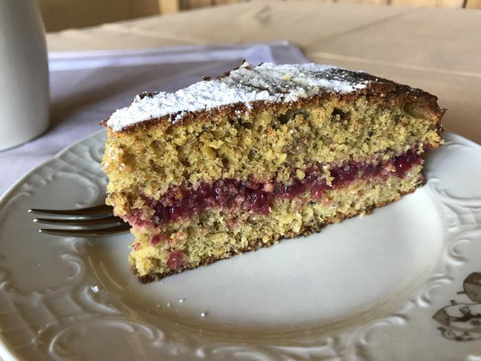 Schwarzplent-Torte (Buchweizen)